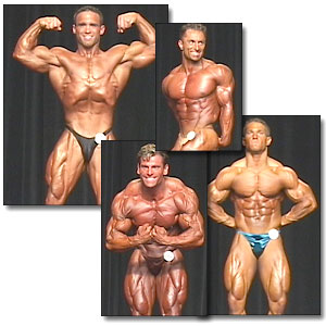 2001 NPC Nationals Men's Prejudging Part 1