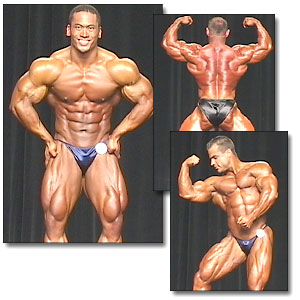 2001 NPC Nationals Men's Prejudging Part 2