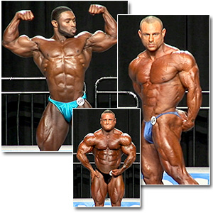 2012 NPC Nationals Men's Bodybuilding Prejudging Part 1