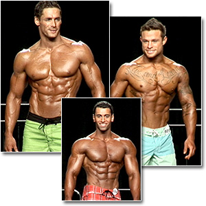 2012 NPC Nationals Men's Physique Prejudging