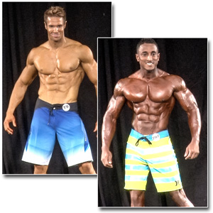 2014 NPC Masters Nationals Men's Physique Prejudging