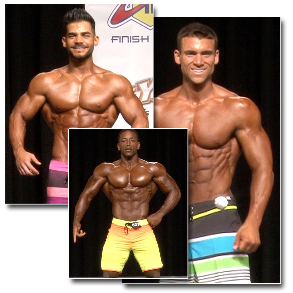 2015 NPC National Championships Men's Physique Prejudging