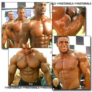 1999 NPC Nationals Men's Pump Room Part 2