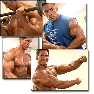 2005 Musclemania Superbody Championships Men's Pump Room Part 1