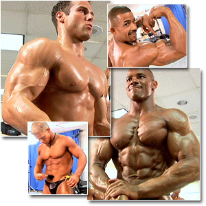2006 Musclemania Superbody Men's Pump Room Part 1