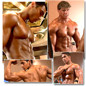 2006 Musclemania World Championships Men's Pump Room Part 1