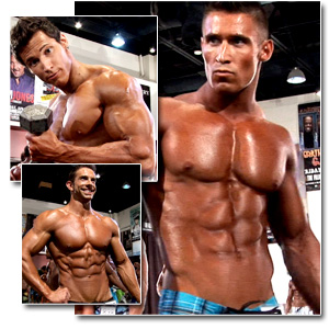 2011 NPC National Championships Men's Physique Pump Room Part 2
