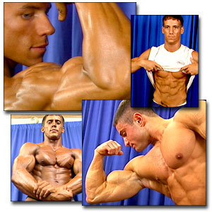 2000 NPC Teen/Collegiate Nationals Men's Backstage Posing Part 1