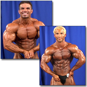 2002 NPC Nationals Men's Backstage Posing Part 2