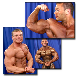 2003 NPC Junior National Championships Men's Backstage Posing Part 2