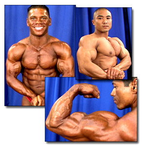 2004 NPC National Championships Men's Backstage Posing Part 1