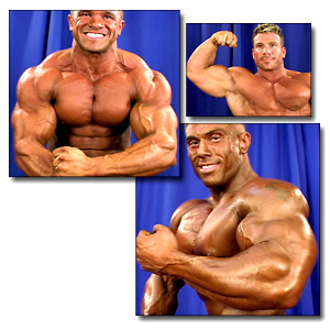 2004 NPC National Championships Men's Backstage Posing Part 3
