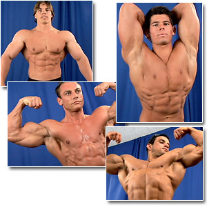 2006 Musclemania Superbody Men's Backstage Posing Part 2