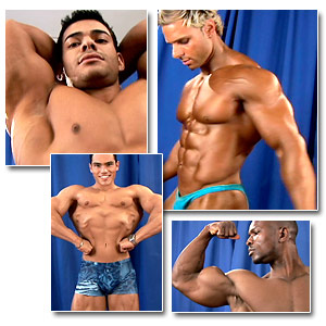 2006 Musclemania World Championships Men's Backstage Posing