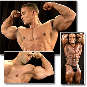 2011 NPC National Championships Men's Backstage Posing Part 1