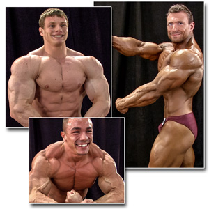 2014 NPC Teen & Collegiate Nationals Men's Backstage Posing Part 2