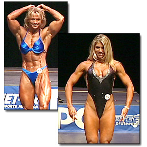 2004 NPC Junior USA Women's Bodybuilding, Fitness and Figure Prejudging
