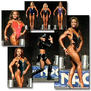 2005 NPC National Women's Fitness Prejudging