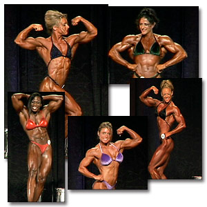 2005 NPC National Women's Bodybuilding Prejudging