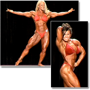 2007 NPC National Championships Women's Bodybuilding Prejudging