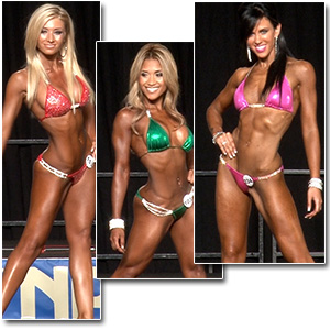 2013 NPC Junior Nationals Women's Bikini Prejudging