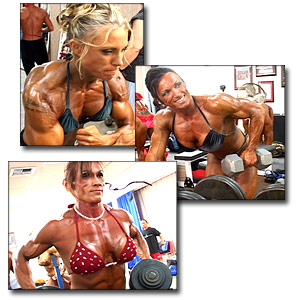 2004 NPC USA Championships Women's Bodybuilding Pump Room