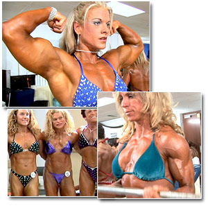 2006 NPC Junior National Bodybuilding Championships Women's Pump Room