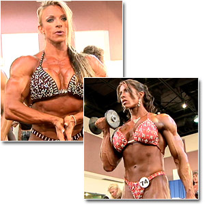 2006 NPC National Bodybuilding Championships Women's Pump Room Part 2