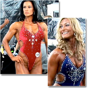 2007 NPC National Championships Women's Fitness Pump Room