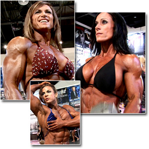 2011 NPC National Championships Women's Bodybuilding Pump Room