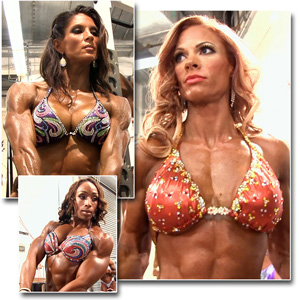2013 NPC National Championships Women's Physique Pump Room