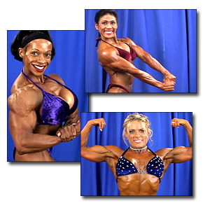 2004 NPC USA Championships Women's Bodybuilding Backstage Posing