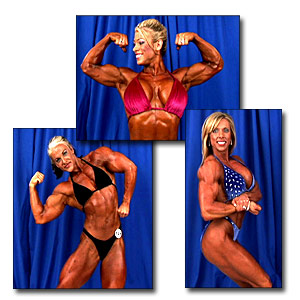 2005 NPC Junior National Women's Bodybuilding Backstage Posing