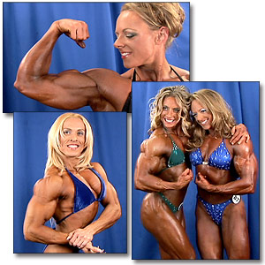 2005 NPC National Women's Bodybuilding Backstage Posing