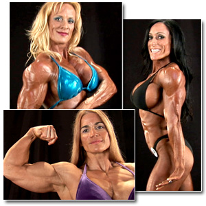2011 NPC National Championships Women's Backstage Posing Part 1