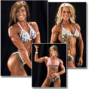 2012 NPC Junior Nationals Women's Bodybuilding & Physique Backstage Posing
