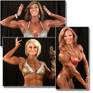 2013 NPC National Championships Women's Physique Backstage Posing